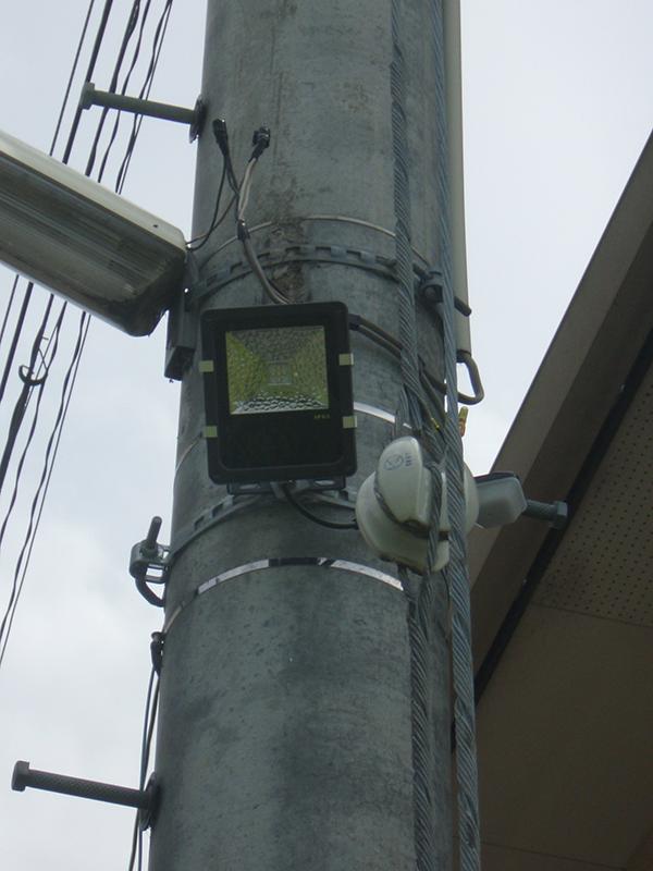 川井町西 防犯灯